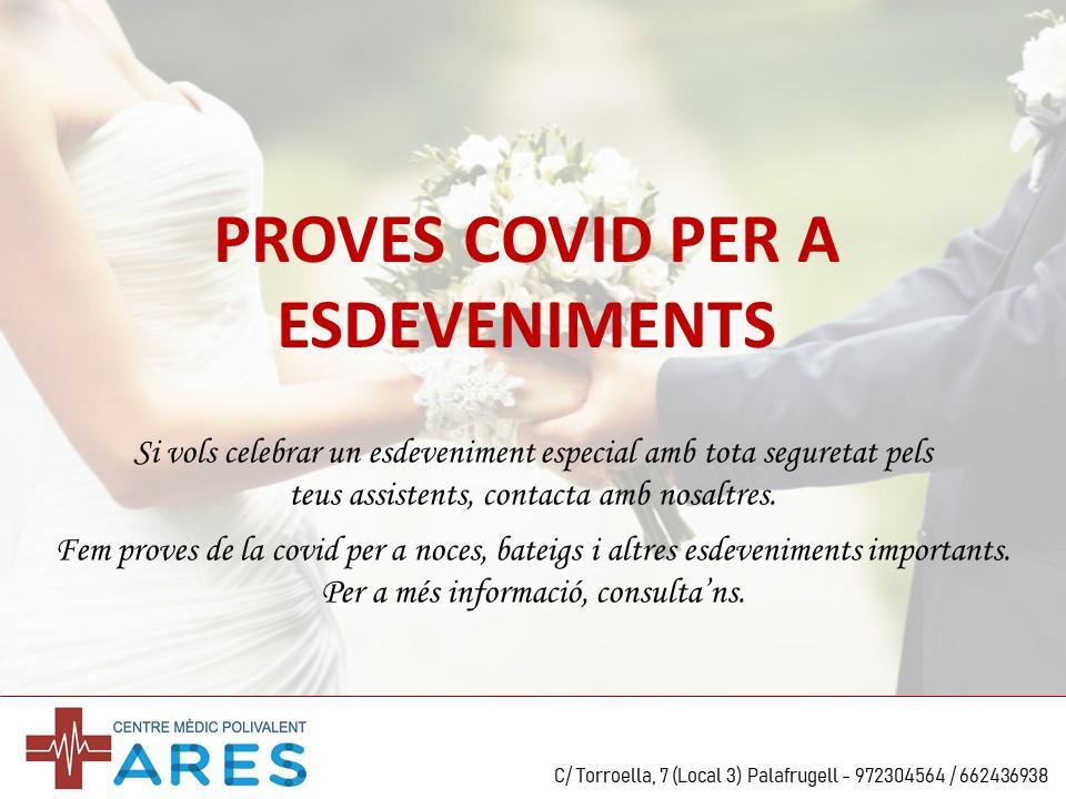 test pcr covid 19 para eventos